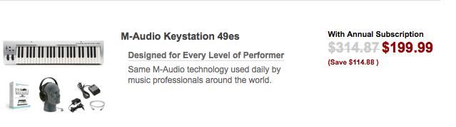 M-Audio 49 Key