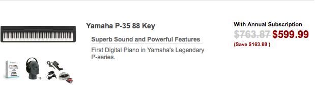 Yamha 88 Key